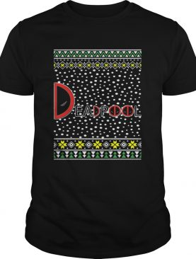 Deadpool Logo Ugly Christmas Sweater Shirt