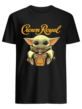 Baby Yoda Hug Crown Royal Shirt