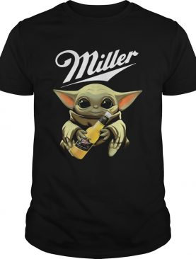 Baby Yoda Hug Miller Genuine Draft Shirt