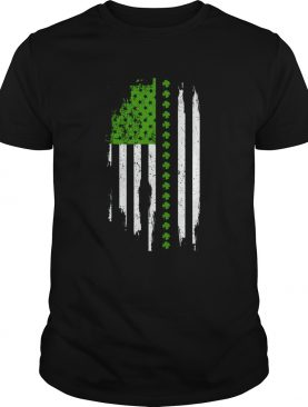 St. Patrick's Day Irish American Flag Shirt
