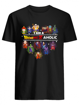 I'm A Dragon Ball Aholic Heart Shirt