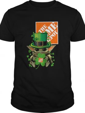 Baby Yoda The Home Depot Shamrock St. Patrick's Day Shirt