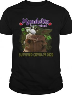 Baby Yoda Mondelz International Survived Covid 19 2020 shirt