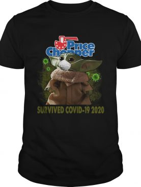 Baby Yoda Price Chopper Survived Covid 19 2020 shirt