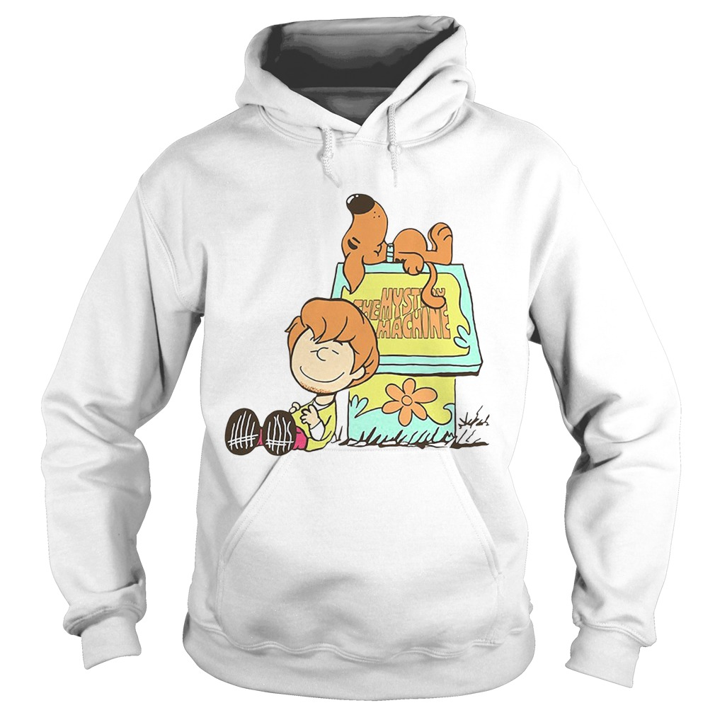 The Mystery Machine Charlie Brown and Snoopy Hoodie