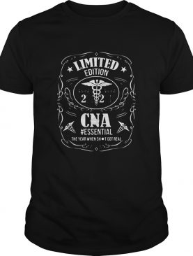 2020 CNA Essential The Year When Shit Got Real Covid19 shirt