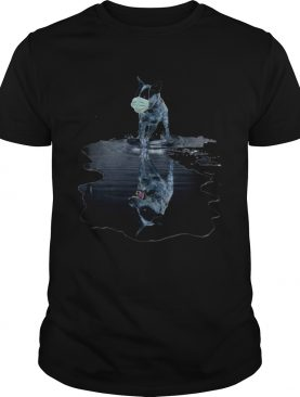 Australian Cattle Dog Mask Mirror Water shirt