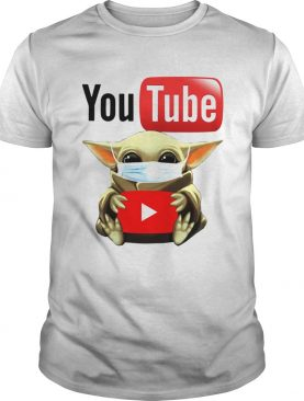 Baby Yoda Face Mask Hug Youtube shirt