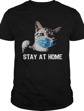 Cat Mask Stay At Home shirt