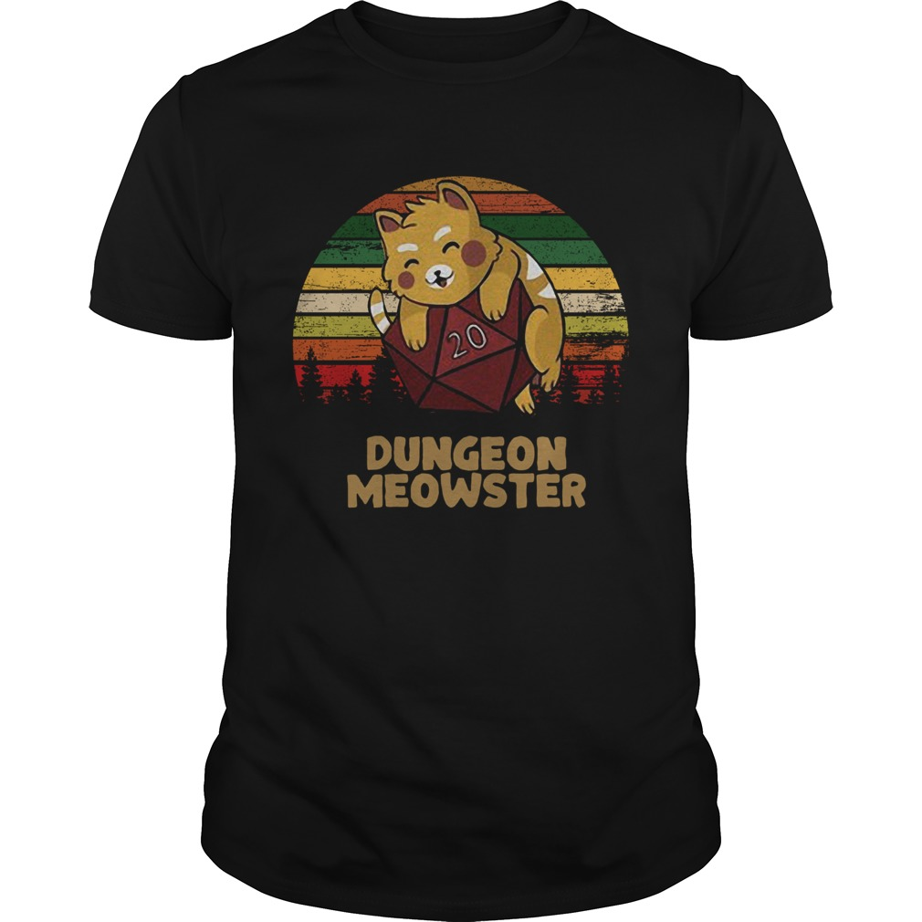 Dungeon Meowster Dnd Tabletop Gamer Cat  Unisex