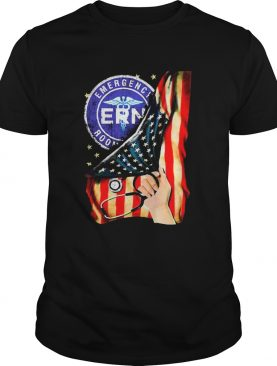 Emergency Room And American Flag shirt