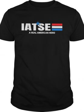 Iatse a real american hero star shirt