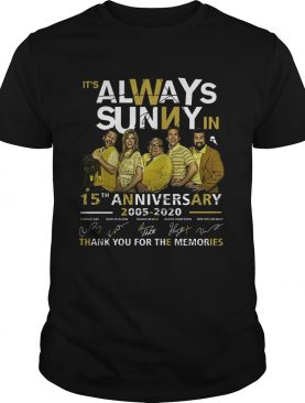 Its Always Sunny In Philadelphia 15th Anniversary 2005 2020 Thank You For The Memories Signatures