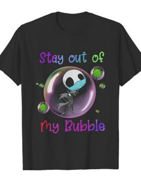Jack Skellington Mask Stay Out Of My Bubble shirt