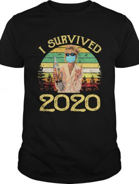 Joanna lumley as patsy stone i survived 2020 vintage shirt