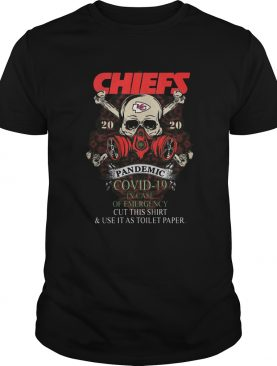 Kansas City Chiefs 2020 I dont stop when Im tired I stop when I Defeated Covid19 hand shirt