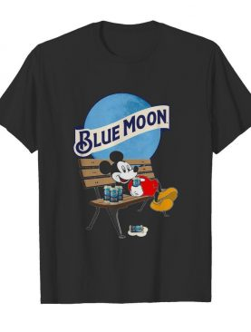 Mickey Mouse Drink Pabst Blue Moon Beer shirt