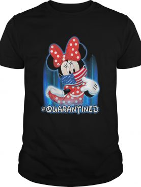 Minnie Mouse Face Mask Quarantined shirt