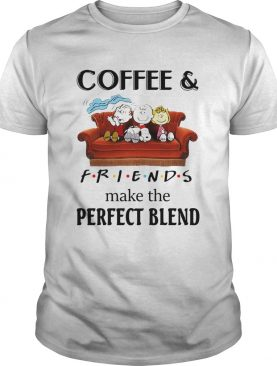 Peanuts Characters CoffeeFriends Make The Perfect Blend shirt