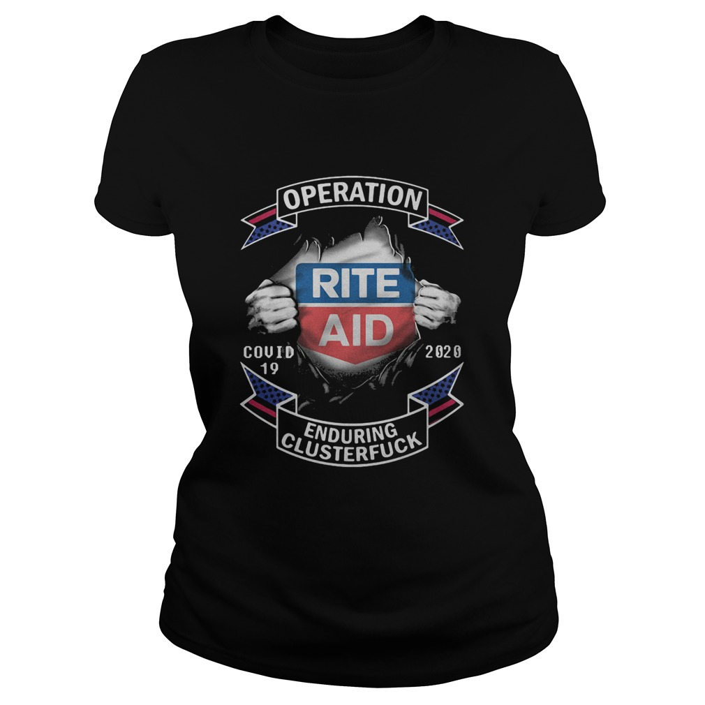 Rite aid operation covid19 2020 enduring clusterfuck hands  Classic Ladies