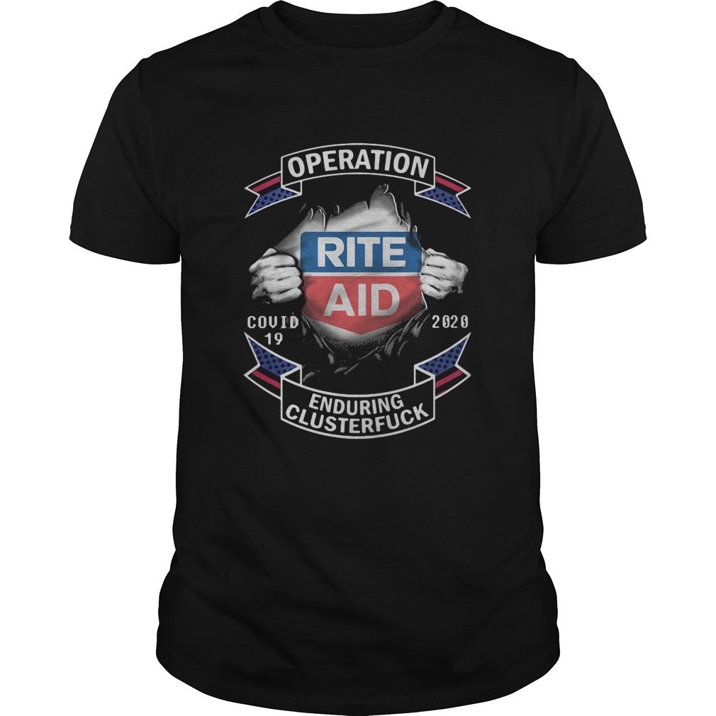 Rite aid operation covid19 2020 enduring clusterfuck hands  Unisex