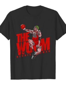 The Wom 91 Dennis Rodman Chicago Bulls Signature shirt