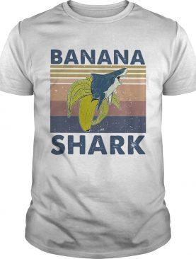 Banana shark vintage shirt