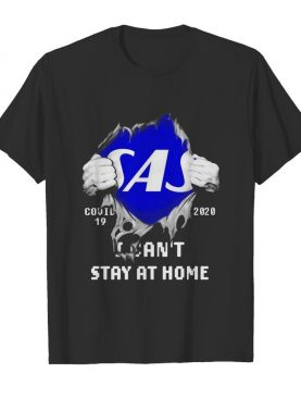 Blood Inside Me Scandinavian Airlines COVID-19 2020 I Can't Stay At Home shirt
