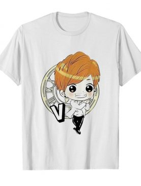 Bts bangtan boy same cartoon v rap monster shirt