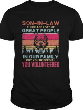 Bulldog soninlaw there are lots of great people in our family but youre special you volunteered