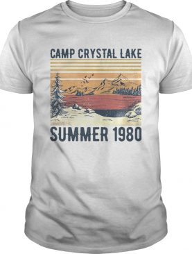 Camp Crystal Lake Summer 1980 Vintage shirt