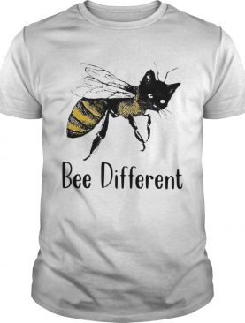 Cat Graphic Bee Diffirent shirt