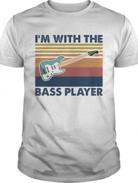 Guitar Im with the bass player vintage shirt