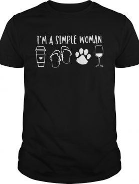 Im A Simple Woman shirt