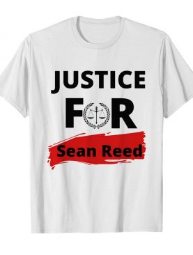 Justice for sean reed tapestry shirt