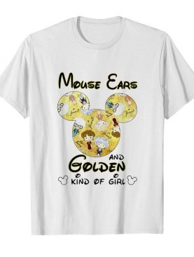 Mickey Mouse Cars And Golden And Kind Of Girl shirt