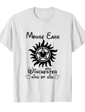 Mickey Mouse Cars And Winchester Kind Of Girl shirt