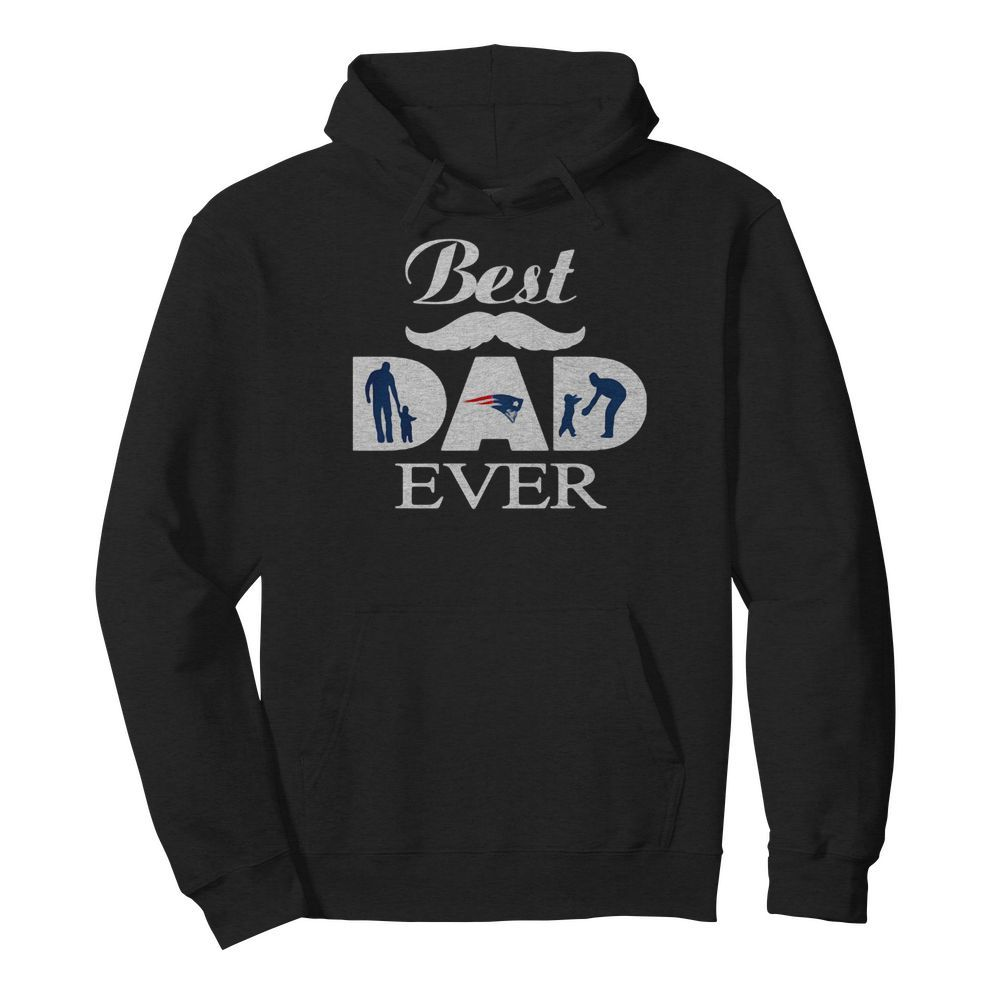 New england patriots best dad ever father's day  Unisex Hoodie