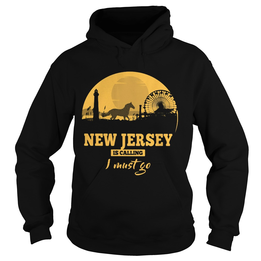 New jersey is calling I must go  Hoodie