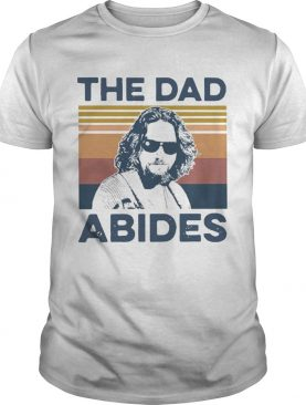 The Big Lebowski The Dad Abides Vintage shirt