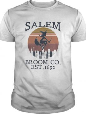 Witch salem broom co est 1692 vintage shirt