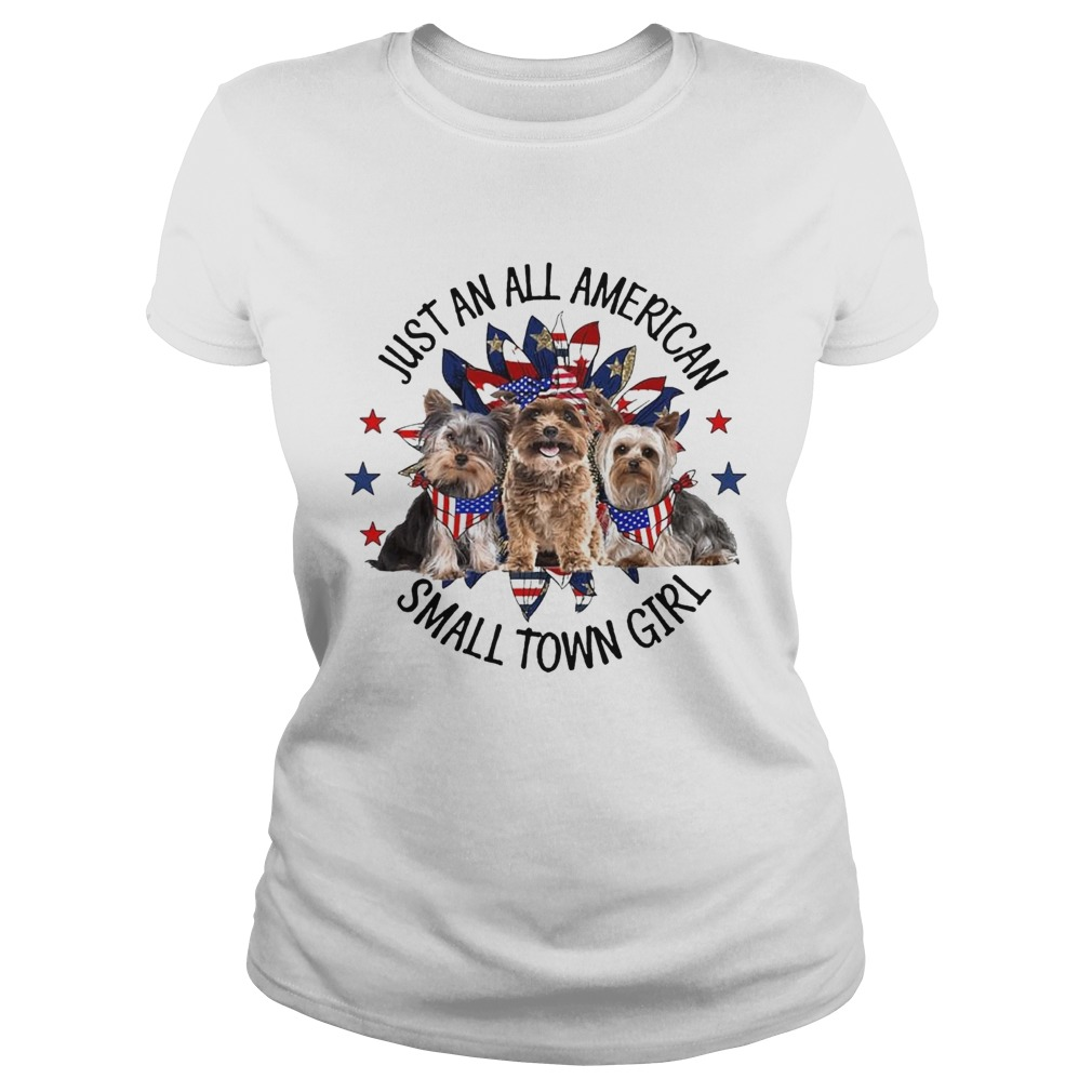 Yorkshire Terrier Just An All American Small Town Girl  Classic Ladies