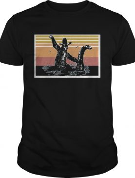 bigfoot dinosaur vintage shirt