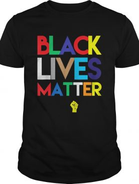 Black lives matter juneteeth colors shirt