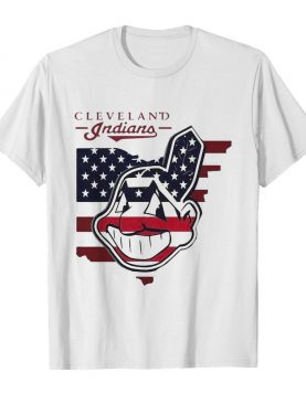 Cleveland Indians American Flag shirt