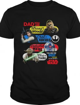 Dad You Are Strong As A Wookief Cool As Han Solo Dedicated As R2 D2 Wise As Yoda You Are The Best F