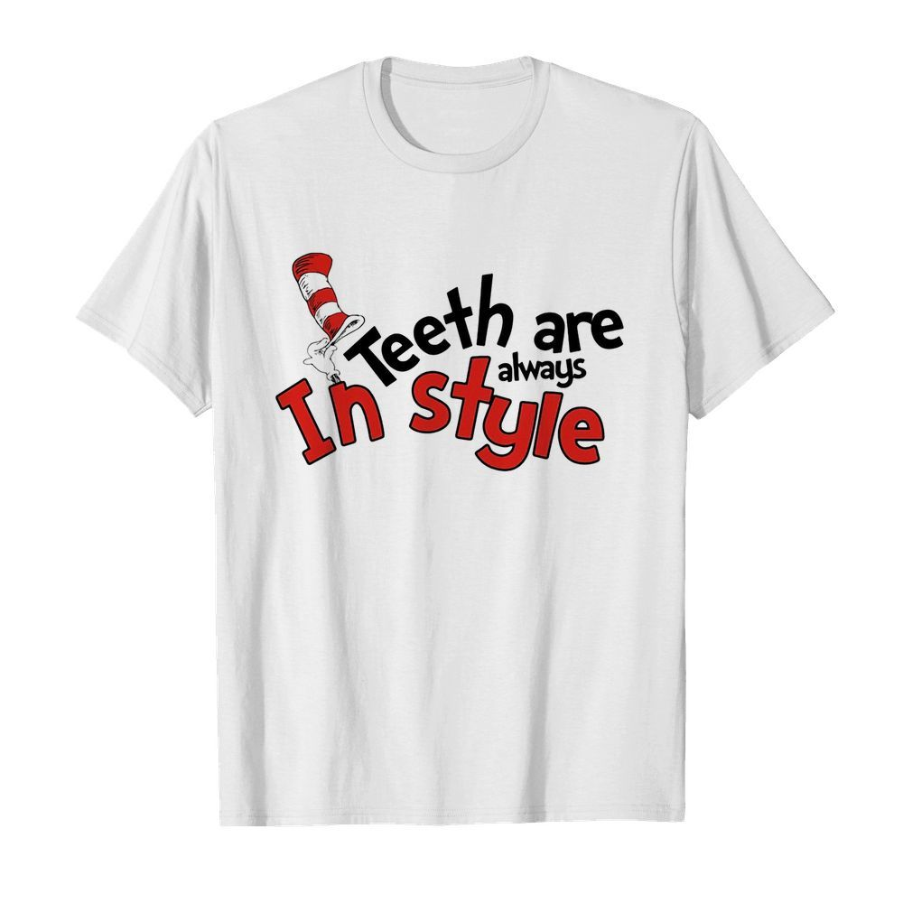 Dr seuss teeth are always in style  Classic Men's T-shirt