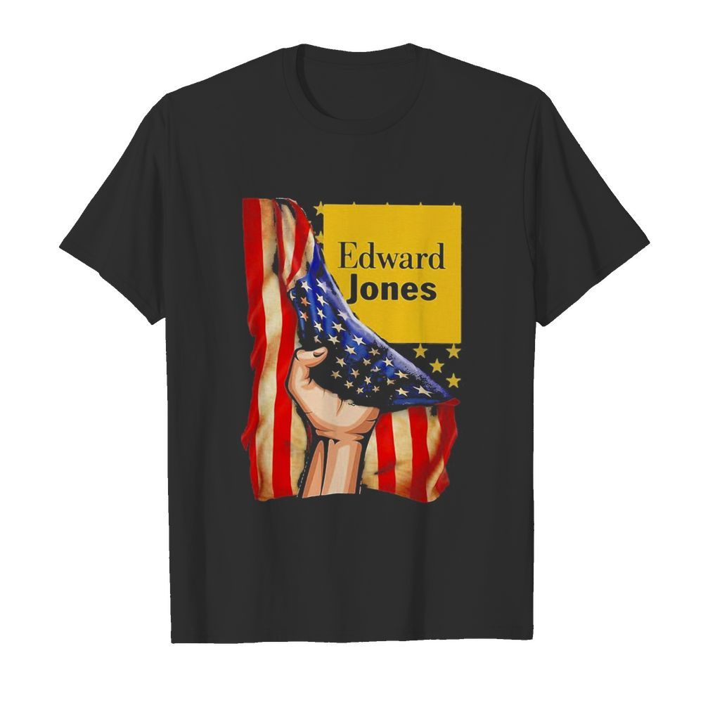 Edward jones american flag independence day  Classic Men's T-shirt