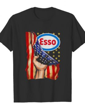 Esso american flag independence day shirt