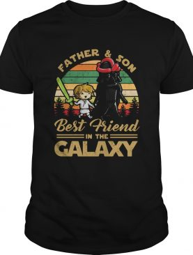 Father and son best friend in the galaxy vintage shirt
